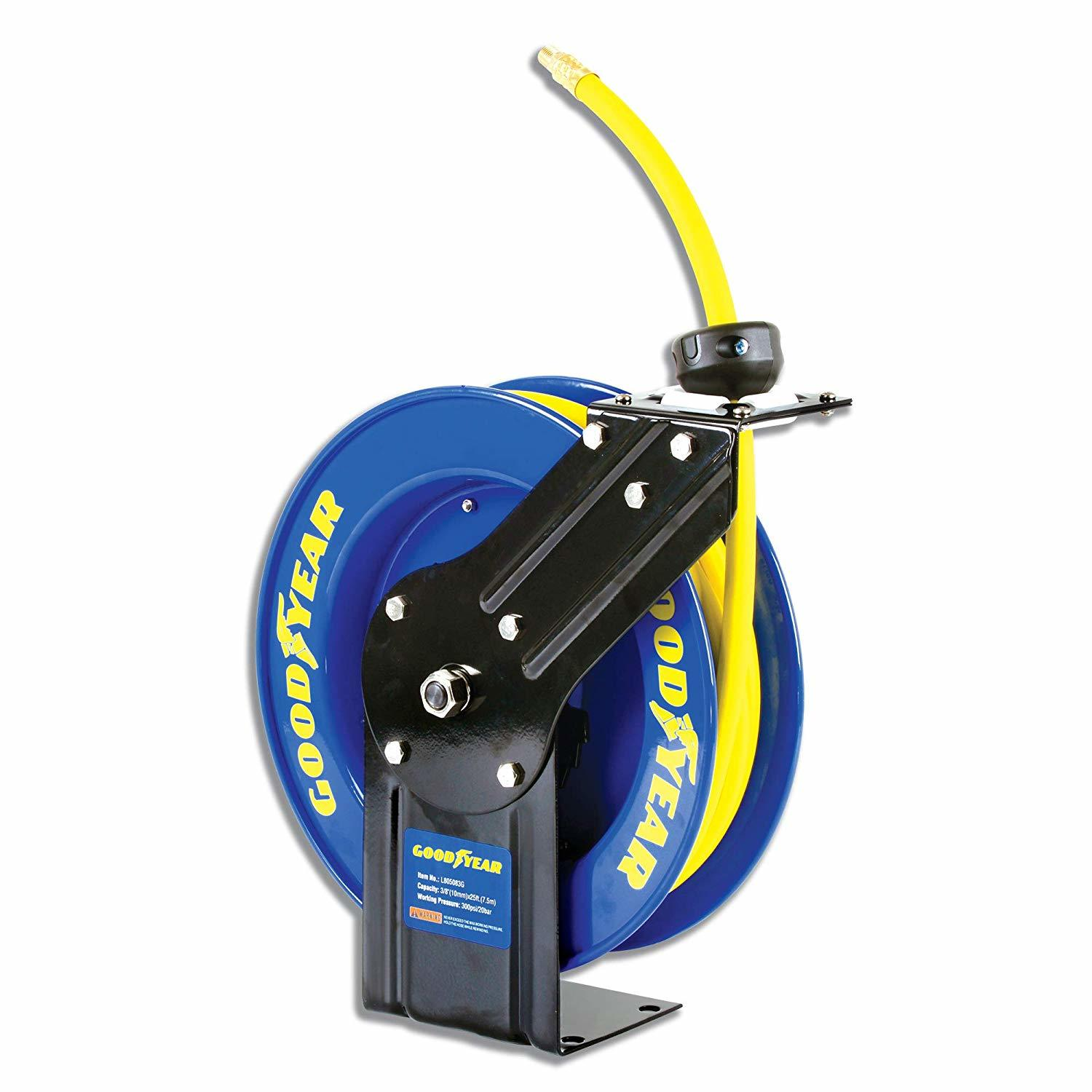 goodyear steel retractable garden hose reel - Best Garden Hose Reel