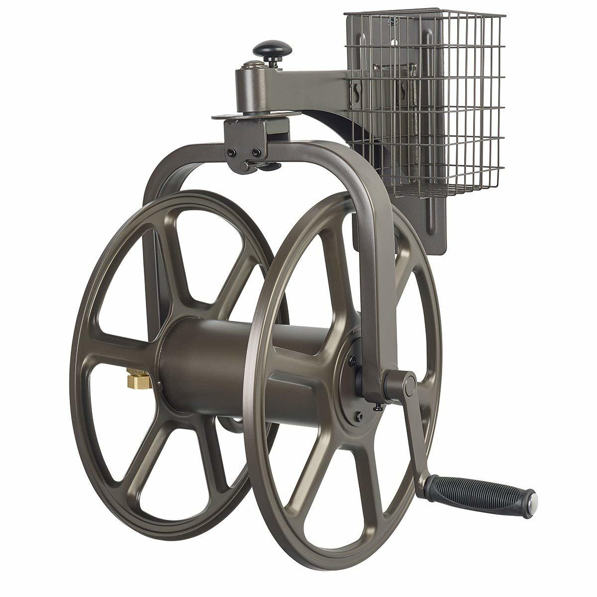 liberty garden products multi directional garden hose reel - Best Garden Hose Reel