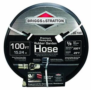 Briggs and Stratton Premium Rubber Garden Hose