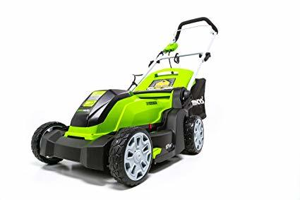 Greenworks MO10B00 17-Inch 10 Amp Corded Electric Lawn Mower