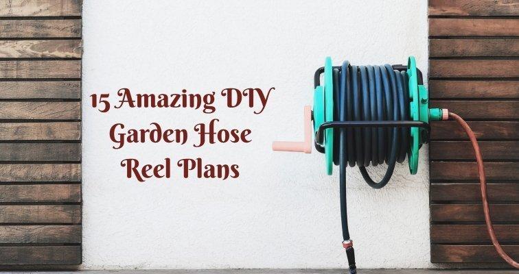 15 Amazing Diy Garden Hose Reel Plans Treillageonline