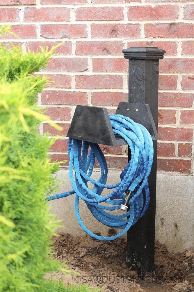 15 Amazing Diy Garden Hose Reel Plans Treillageonline Com