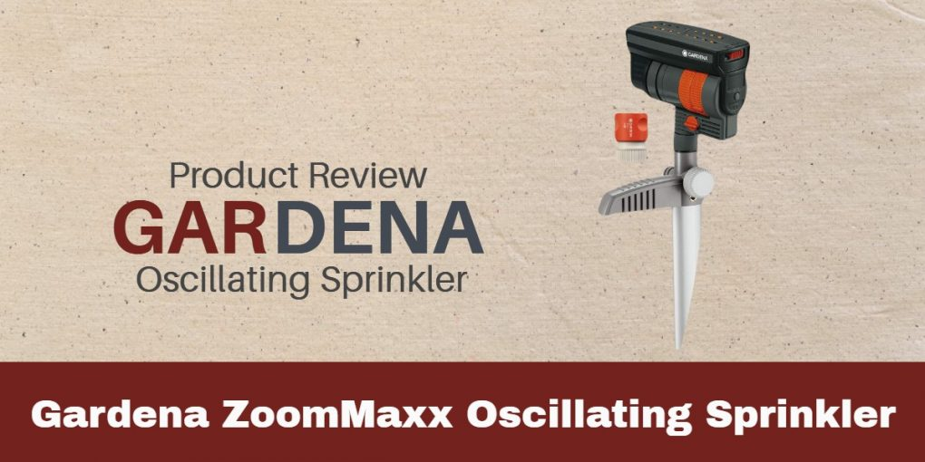 Gardena ZoomMaxx Oscillating Sprinkler Review