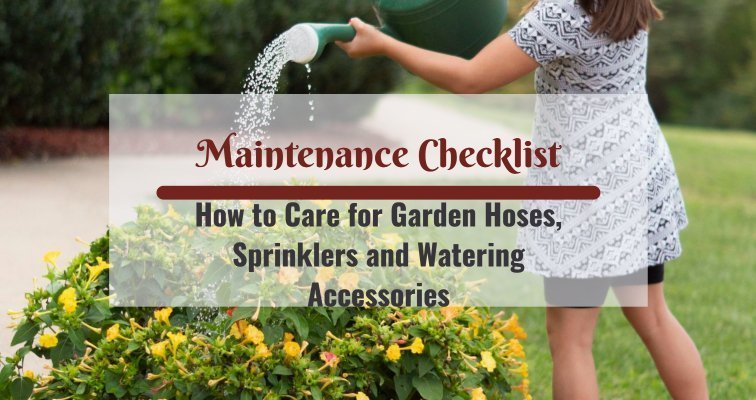 How to Care for Garden Hoses and Sprinklers