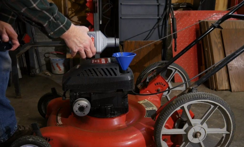 Synthetic Oil for Lawn Mower