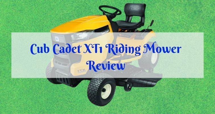 XT1 Enduro Series riding mower