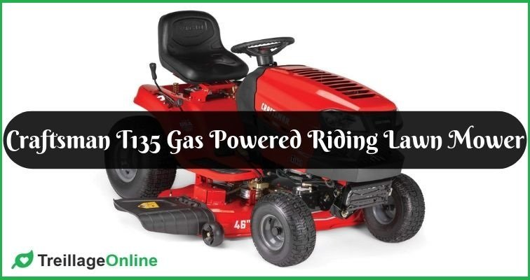 Craftsman T135 Gas Powered Riding Lawn Mower Review
