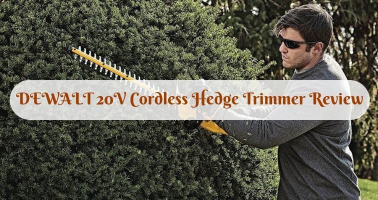 DEWALT 20V Cordless Hedge Trimmer Review