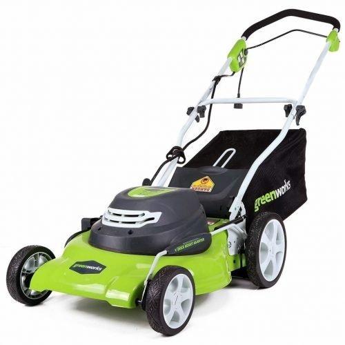 GreenWorks25022 20-Inch Walk Behind Lawn Mower