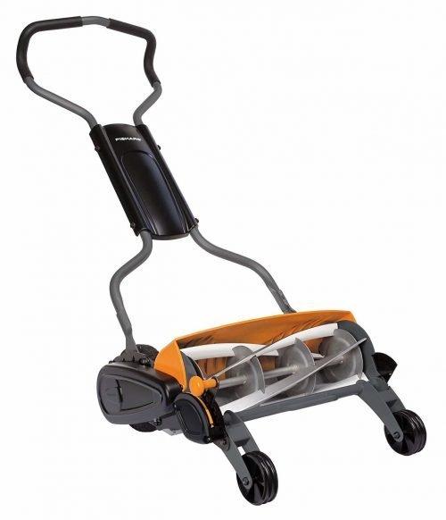 Fiskars 18 Inch Manual Push Mower
