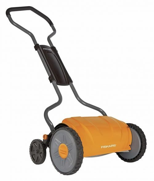 Fiskars 6208 17 Inch Staysharp Push Reel Lawn Mower