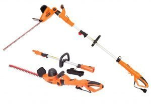 GARCARE 4.8A Multi-Angle Corded Hedge Trimmer