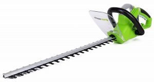 Greenworks 2200102 22-Inch 4-Amp Corded Hedge Trimmer