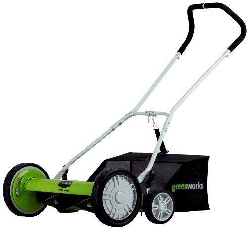 Greenworks 25062 Manual Push Mower