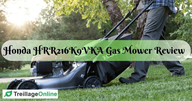 Honda HRR216K9VKA Self-Propelled Gas Mower Review