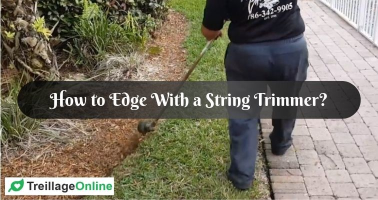 How to Edge With a String Trimmer