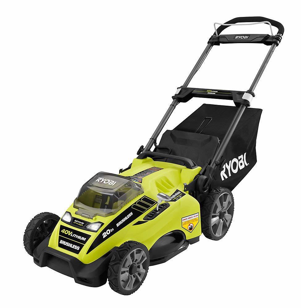 The Ryobi 40v Brushless Lawn Mower
