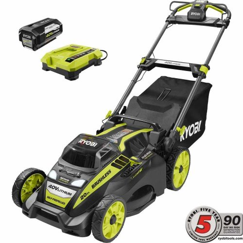 Ryobi. 20in RY40190 Self Propelled Lawn Mower