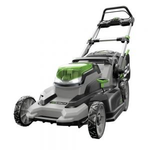 EGO Power+ LM2000-S 20-Inch 56-Volt Lithium-ion Cordless Walk Behind Lawn Mower for Hills