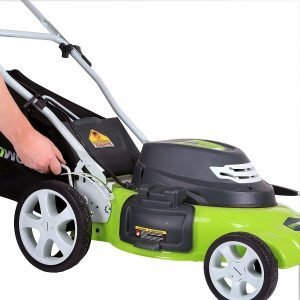 GreenWorks 20-Inch 12 Amp Lawnmower for Hills