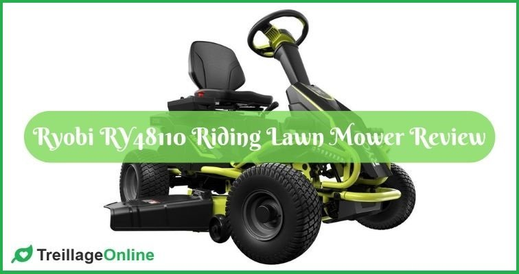 Ryobi RY48110 Riding Lawn Mower Review