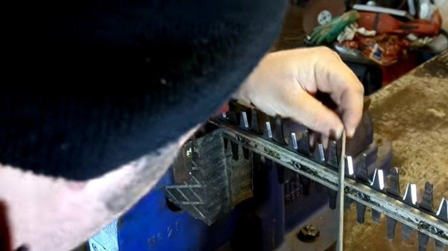 How to Sharpen Hedge Trimmer Blades?   TreillageOnline com
