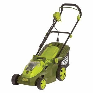 Sun Joe iON16LM 40 V 16-Inch Cordless Lawn Mower for Hills